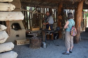 The Blacksmith at Fort Uncompahgre