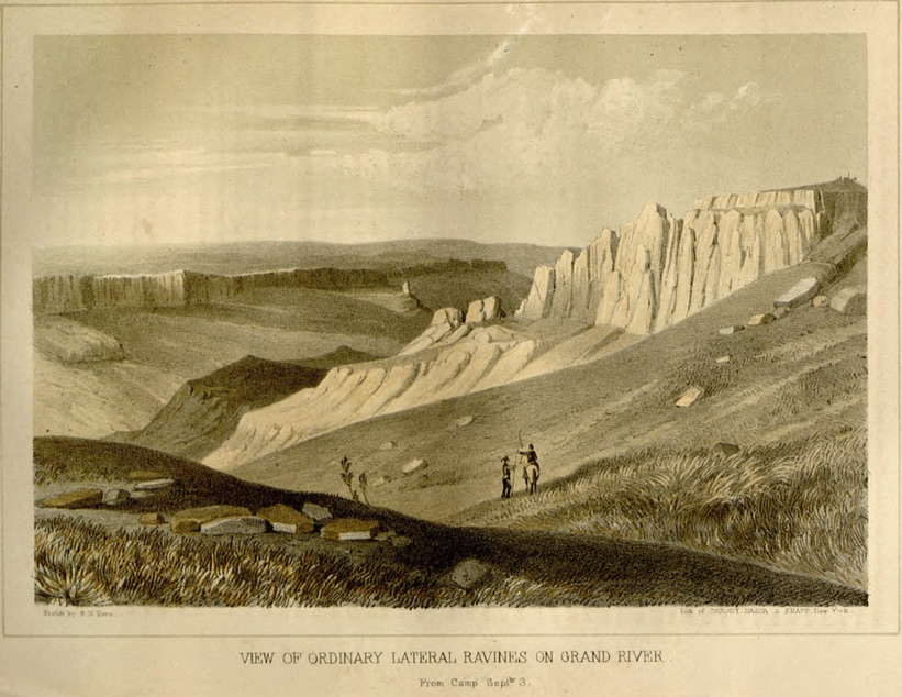 Gunnison, views of the Grand River, Library of Congress